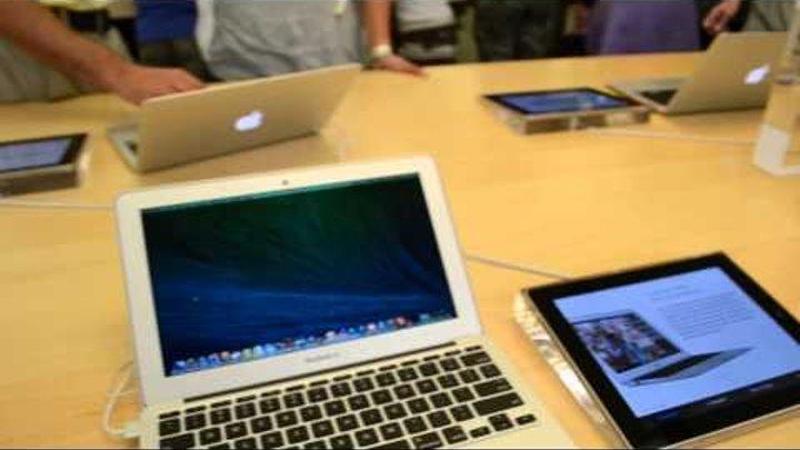 104. Жизнь в США - Сколько стоит iPhone 5С и iPhone 5S в Америке, цены - Гуляем по Millenia Mall