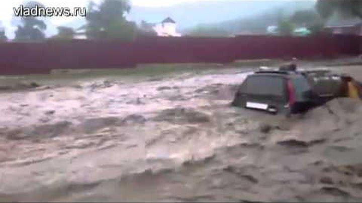 Потоп в приморском поселке Екатериновка