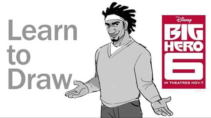 How to Draw Wasabi from Big Hero 6 | Disney Insider
