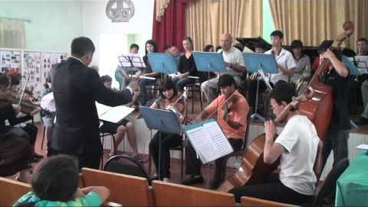 Южно-Казахстанский музыкальный колледж_Симфонический оркестр_ Часть 2