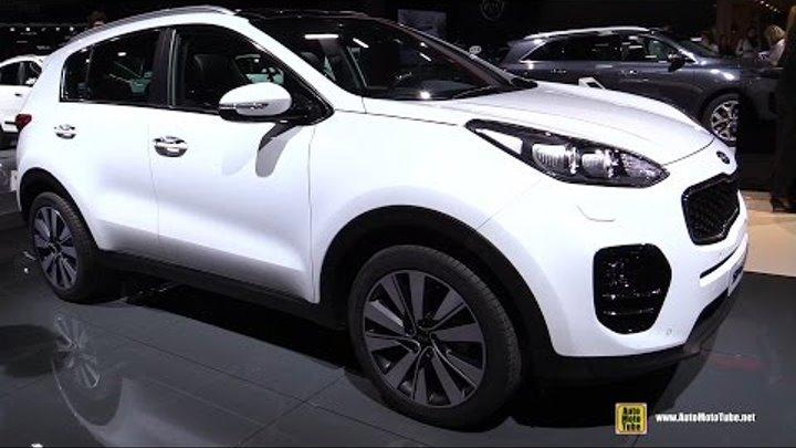 2017 KIA Sportage 1.7 Diesel - Exterior and Interior Walkaround - 2016 Paris Motor Show 2