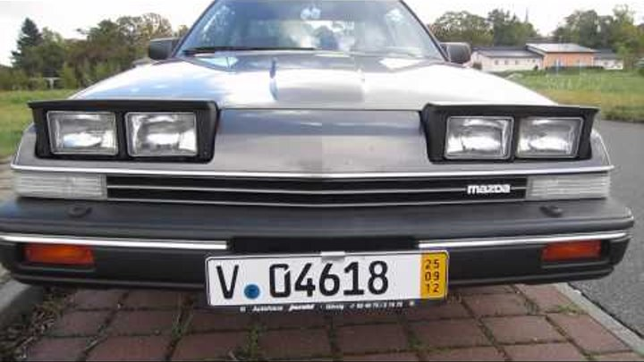 BEST Mazda 929 HB Video (2.0i GLX) 1986 - Part 1 (The Outside)