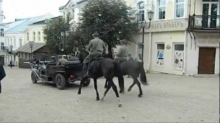 "Съёмки фильма ""Комиссар Шагал и гражданин Малевич"""