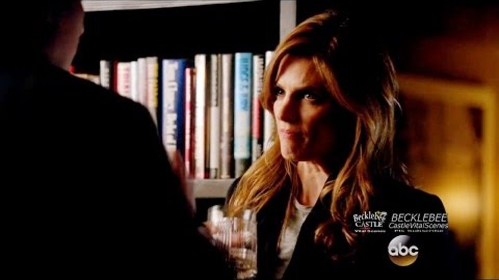 "Castle 8x15 Beckett Castle Drink Instead of Talking Their Issues ""Fidelis Ad Mortem"""