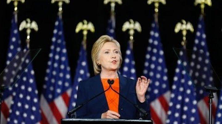 Хиллари Клинтон: «Если Трамп выиграет, в Кремле будет праздник»