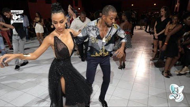 Maykel fonts & Sylvia Chapelli - salsa social dancing @ Martinique Int 'Salsa Festival 2018