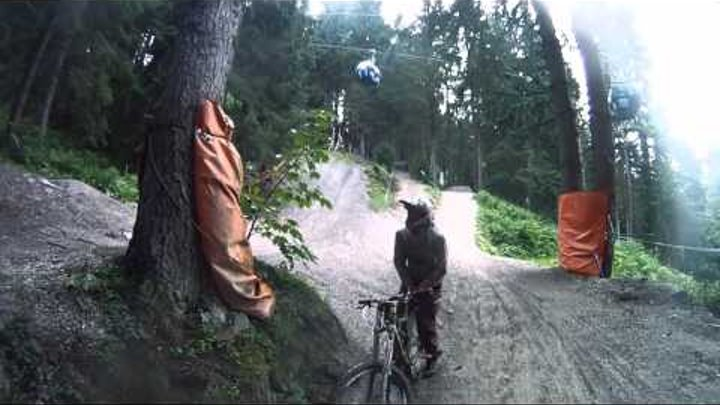 Leogang 2012 GoPro HD Bikepark MTB DH FR Freeride Downhill VTT