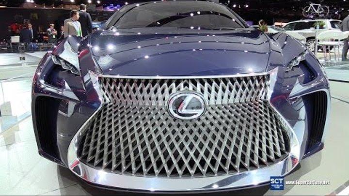 2017 Lexus LF-FC Concept - Exterior Walkaround - 2016 Detroit Auto Show