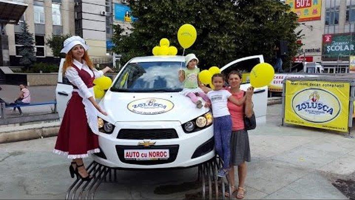 Виктория Черня выиграла 6-й автомобиль от сети магазинов Zolusca 13.08.2016