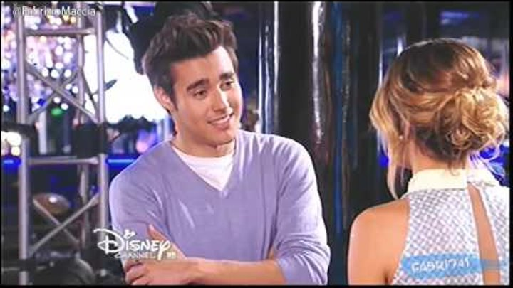 Violetta 3 Разговор Леона и Виолетты Capitulo 60 Disney HD Argentina