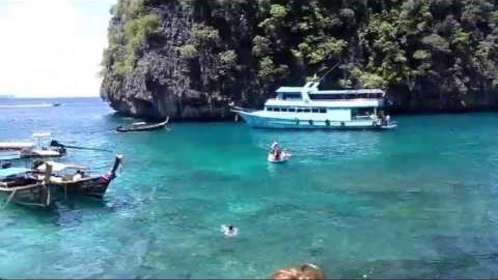 Бухта Майя Бэй (Maya Bay) о-ва Пхи-Пхи Провинция Краби Таиланд...