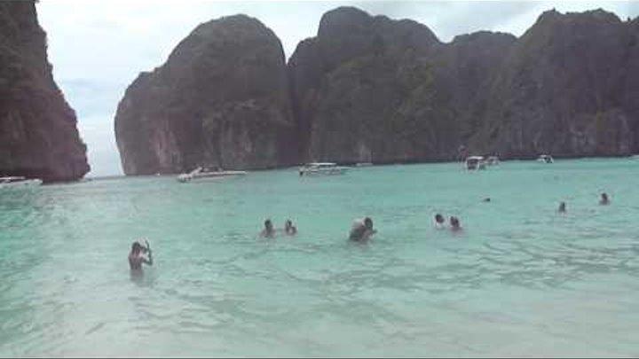 Таиланд, острова Пхи-Пхи, бухта Майя Бей