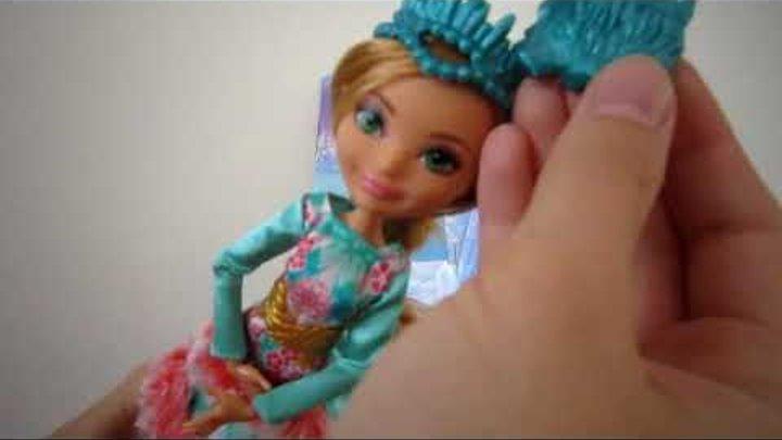 Обзор куклы Эшлин Эпическая зима Epic Winter Ashlynn Ella Ever After High 2