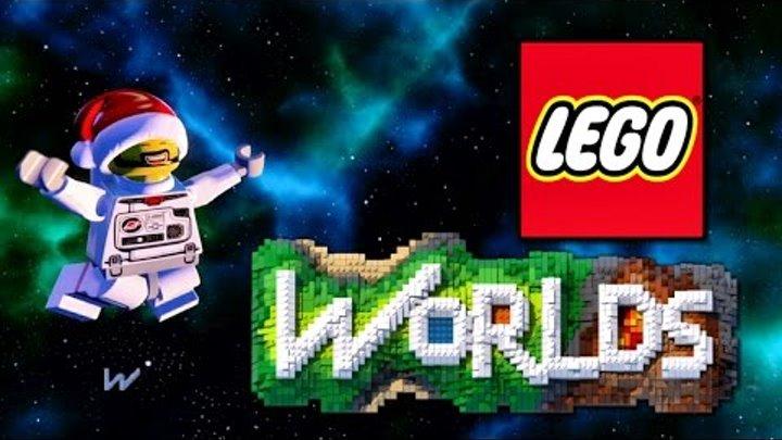 LEGO WORLDS Прохождение на русском учимся играть в ЛЕГО МИРЫ Часть 1