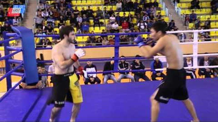 Бой за 3 место 65.8кг Даваев Валерий, Team Strela – Алиев Али, ММА Калмыкии