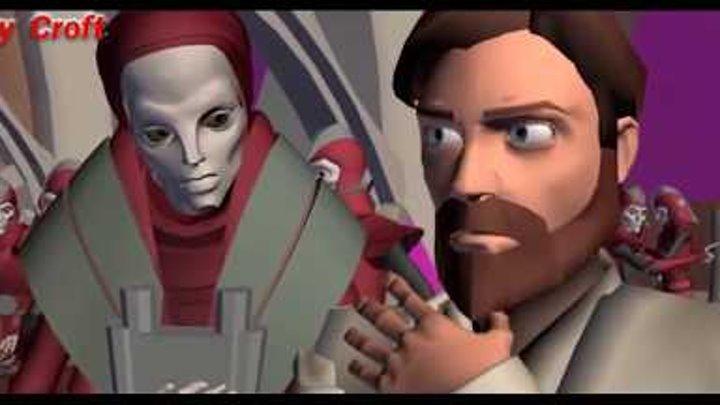 """Звёздные войны: Войны клонов 7 сезон 1 серия """"Смерть на Утапау"""""""