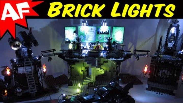 Lego Batman Sets with LED BRICK LIGHTS