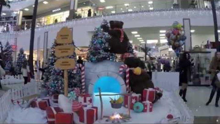 Резиденция Деда Мороза в Мегацентре «Красная Площадь»!