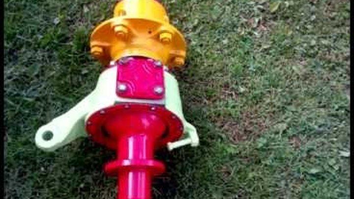 Переломный узел для вездехода на шинах низкого давления (кулак газ 66)