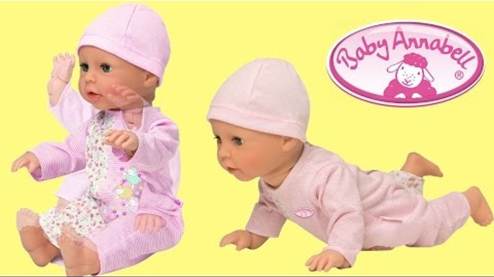 Baby Annabell learn to walk-Baby Annabell 2014 Baby Interactive Doll