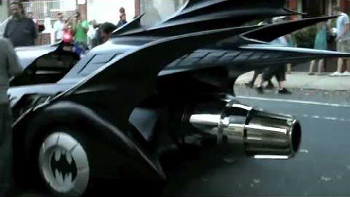 Real Batman 3 trailer preview and batmobile