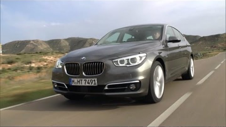 New BMW 5 Series GT Facelift - Details & Driving [HD]