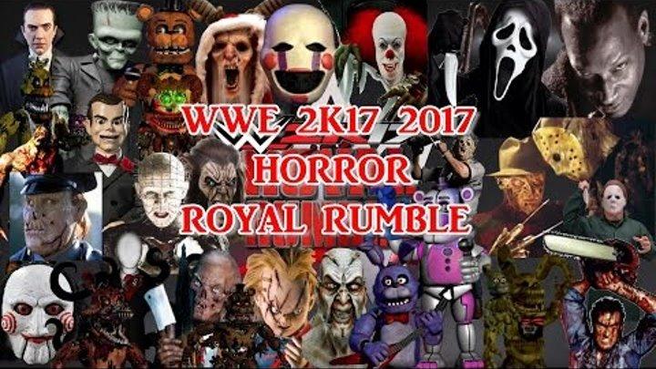 WWE 2K17 Epic Horror Royal Rumble 2017 Match