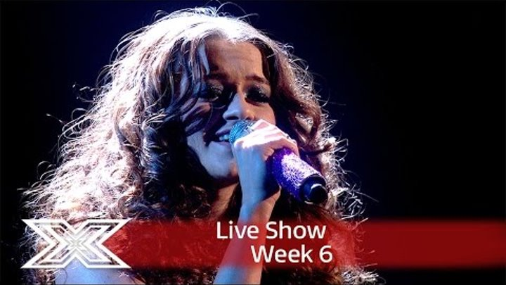 Emily Middlemas gets groovy to Wishing on a Star | Live Shows Week 6 | The X Factor UK 2016