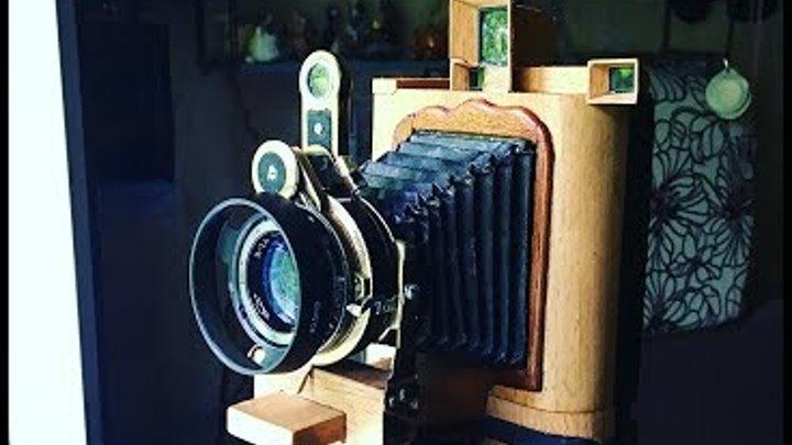 Fujifilm instax & medium format camera Moskov-5 6x9 cm Краткий обзор