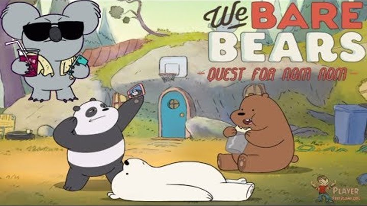We Bare Bears: Quest for Nom Nom (ios/android) Gameplay Hd - Free Mobile