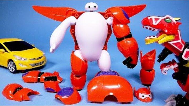 빅히어로 Big Hero 6 파워레인저 다이노포스 빅히어로 6 아머업, 타요 뽀로로 헬로카봇 또봇 Big Hero 6 Baymax Power Rangers Dino charge