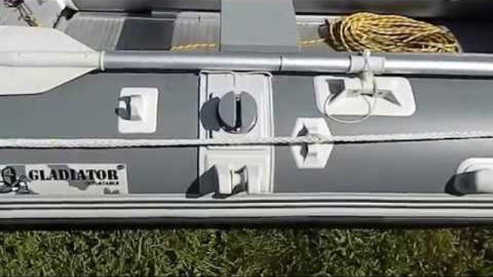 Тюнинг лодки Gladiator C330