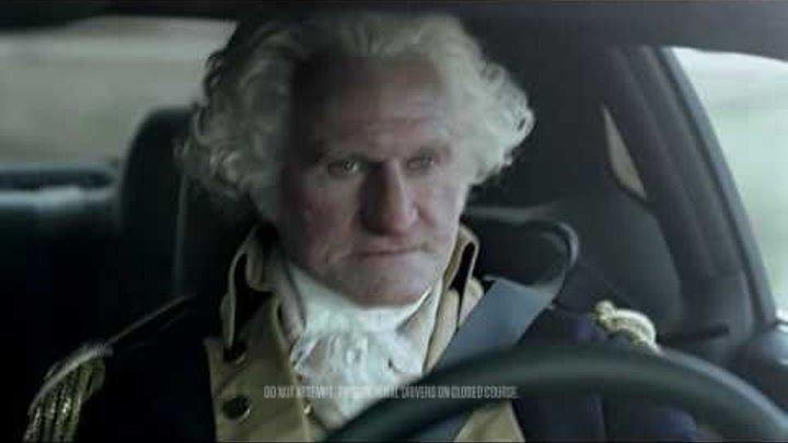 "[HD] Dodge Challenger - George Washington ""Freedom"" American Revolutionary War Ad"