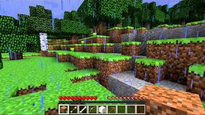 Жизненный цикл в Minecraft - Серия 2 - В поисках камня