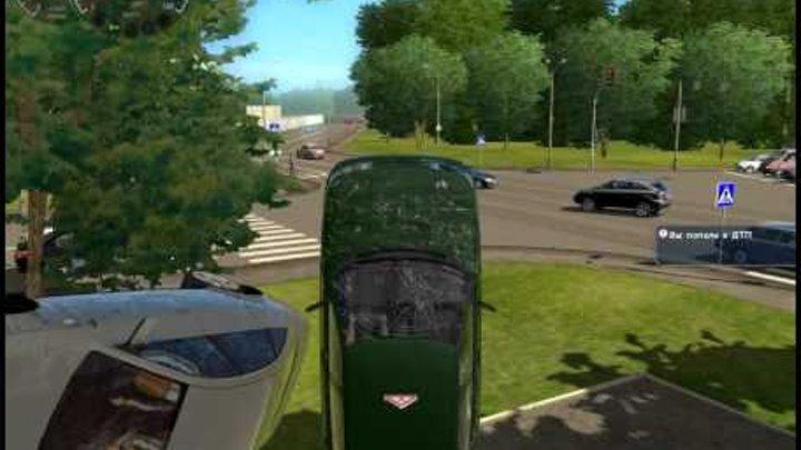 3D Инструктор 2.2 баг / City Car Driving 1.2 bug