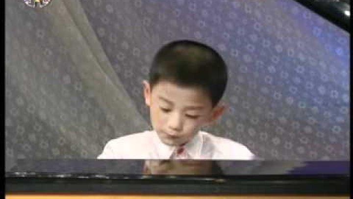 [фортепиано] «Бей, барабан!» {Музыка КНДР}