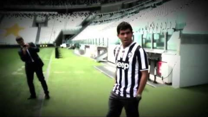 Il primo giorno di Carlitos Tevez allo Juventus Stadium - Tevez: my first day at Juventus Stadium