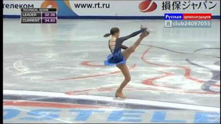 vlc record 2014 02 09 02h05m25s Юлия Липницкая Олимпиада Сочи 2014 1 место