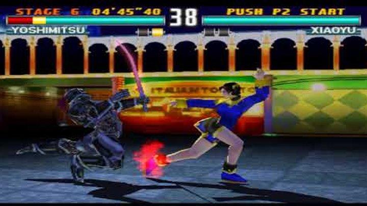 Tekken 3 прохождение за Yoshimitsu