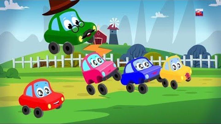 семейство автомобильных пальцев | детские рифмы | детские песни | Nursery Rhymes | Car Finger Family