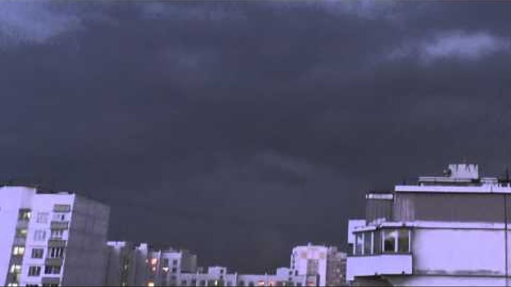 Гроза - Москва, Южное Бутово - 24 мая 2013.