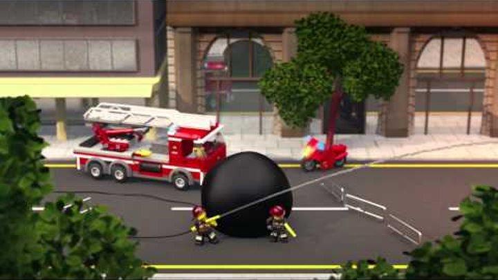 60002 Лего Город Пожарная машина