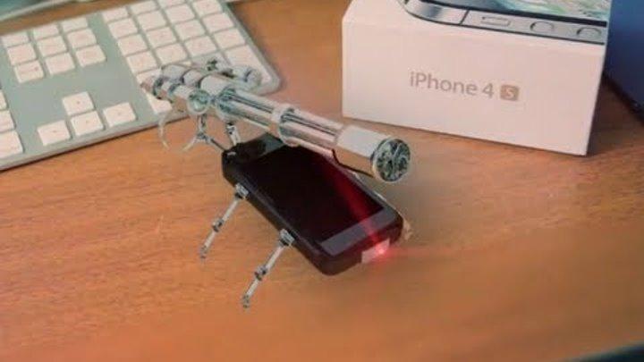 "Secret feature in the iphone 4s ""Terminator mode"""