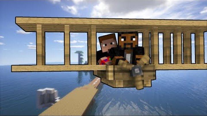 КРУШЕНИЕ САМОЛЁТА в Minecraft - ЛЕТНИЕ ПРИКЛЮЧЕНИЯ с ЭМИРАЛЬДОМ | ВЫЖИВАНИЕ НА ОСТРОВАХ В МАЙНКРАФТ