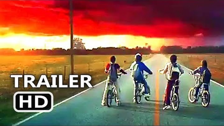 STRANGER THINGS Season 2 New Trailer Tease + Motion Poster (2017) Netflix TV Series HD