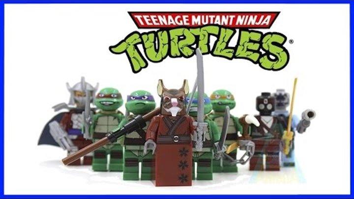 Минифигурки Черепашки Ниндзя LEGO Minifigures Teenage Mutant Ninja Turtles TMNT