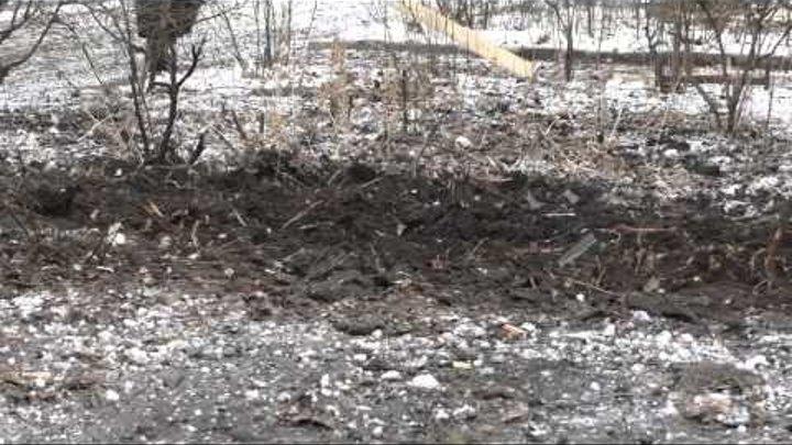 ДНР обстреляла градами Авдеевку 26 января