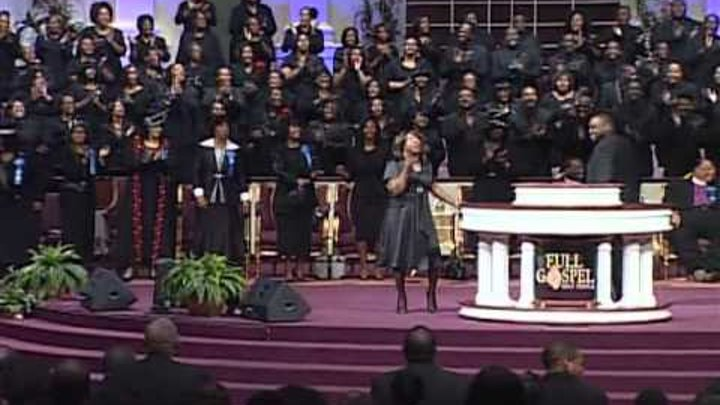 FGHT Dallas: Pastor Beverly Crawford singing at Holy Convocation 2012
