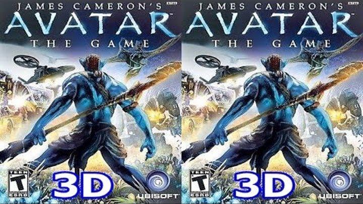 J. C. Avatar The Game 3D VR TV Cardboard video SBS
