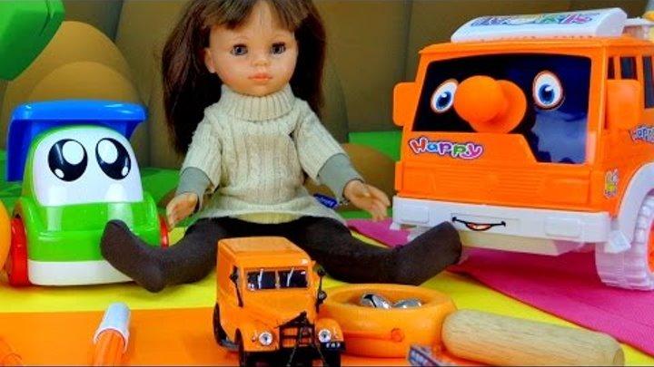 Английский для детей! Учим цвета - Оранжевый. Цвета на английском. Видео для детей. Машинки